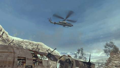 The attack helicopter guarantees extra free kills