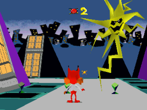 Bubsy 3D was a turd of a game
