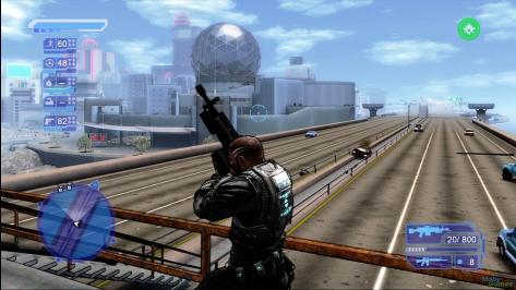 It still looks quite good, but Crackdown plays like crap these days