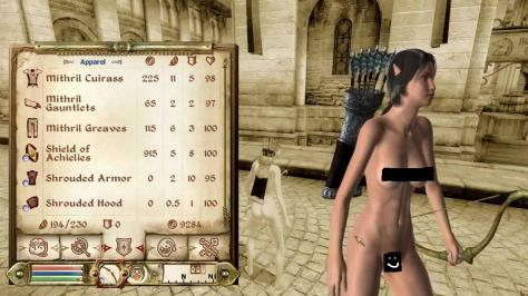 Dirty girl in skyrim