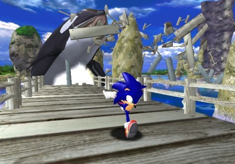 Although a good game, the decline in Sonics sales seen the end of SEGA