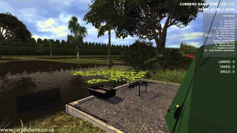Carp fishing Simulator is one of the simulators I'm playing at the minute