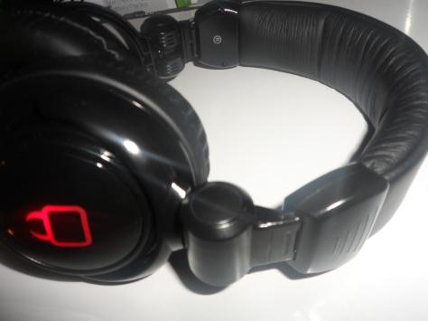 glowing headset