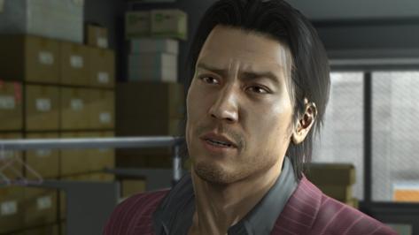 Actual screenshot from Yakuza 5