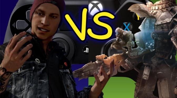 Titanfall vs inFamous review scores