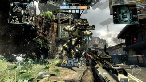 Titanfall constantly annoys with random men shouting at you.